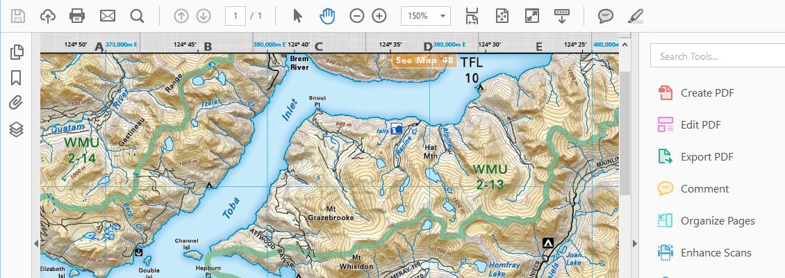 MAPublisher geospatial PDF support
